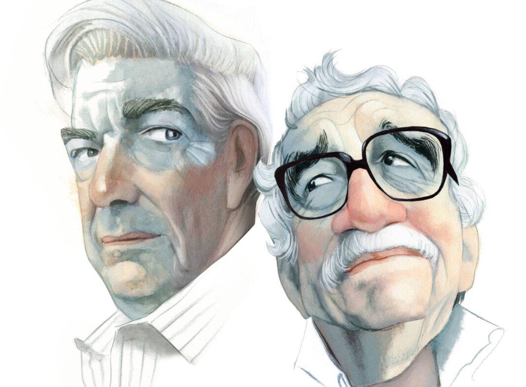 Vargas Llosa y Gabriel García Marquez
